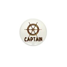 Captain Mini Button (10 pack)