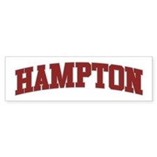 HAMPTON Design Bumper Bumper Sticker