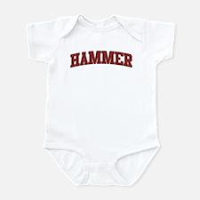 HAMMER Design Onesie