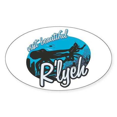 Call of Cthulhu - Visit Beautiful R'lyeh Sticker (