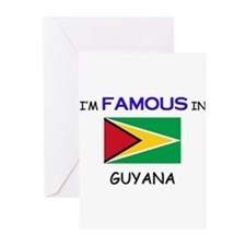 I'd Famous In GUYANA Greeting Cards (Pk of 10)