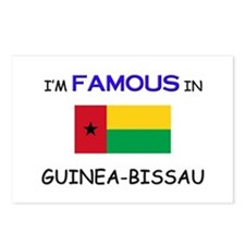I'd Famous In GUINEA-BISSAU Postcards (Package of