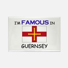 I'd Famous In GUERNSEY Rectangle Magnet (10 pack)