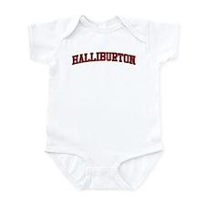 HALLIBURTON Design Infant Bodysuit