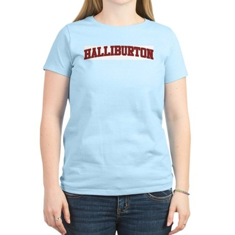 HALLIBURTON Design Women's Light T-Shirt