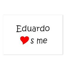 Funny Eduardo Postcards (Package of 8)