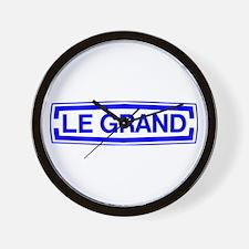 Le Grand Wall Clock