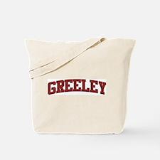GREELEY Design Tote Bag