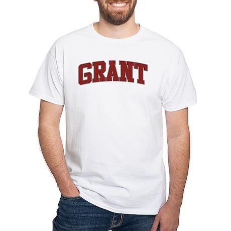 GRANT Design White T-Shirt