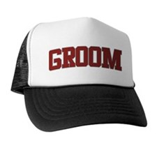 GROOM Design Trucker Hat