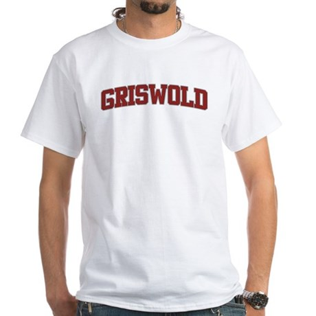 GRISWOLD Design White T-Shirt