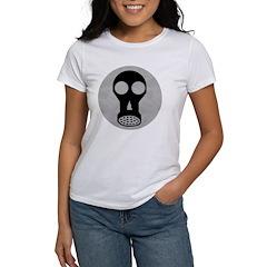 Gas Mask Women's T-Shirt