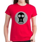 Gas Mask Women's Dark T-Shirt