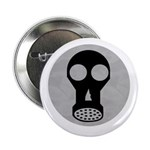 "Gas Mask 2.25"" Button (100 pack)"