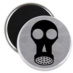 "Gas Mask 2.25"" Magnet (10 pack)"