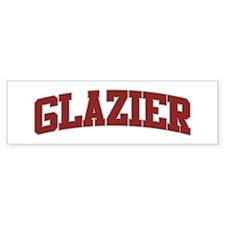 GLAZIER Design Bumper Bumper Sticker