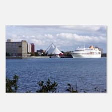 Sault Ste Marie Riverfront Postcards (Package of 8