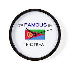 I'd Famous In ERITREA Wall Clock