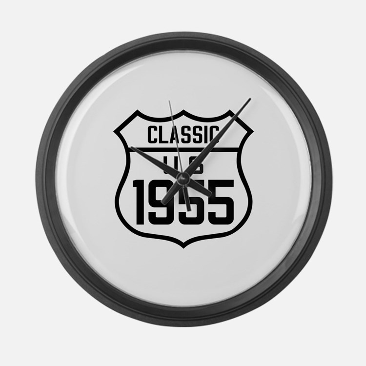 Classic US 1955 Large Wall Clock