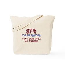 Skyler - Stole My Thunder Tote Bag