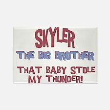 Skyler - Stole My Thunder Rectangle Magnet