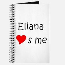 Cute Eliana Journal