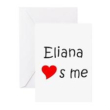 Cute Eliana Greeting Cards (Pk of 10)