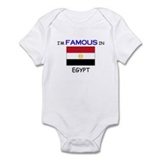 I'd Famous In EGYPT Infant Bodysuit