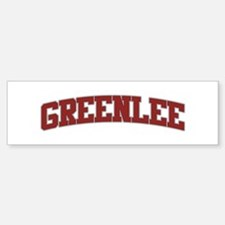 GREENLEE Design Bumper Bumper Bumper Sticker