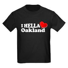 I HELLA LOVE / HEART OAKLAND T