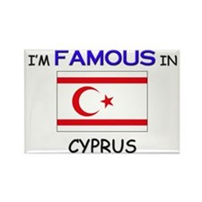 I'd Famous In CYPRUS Rectangle Magnet