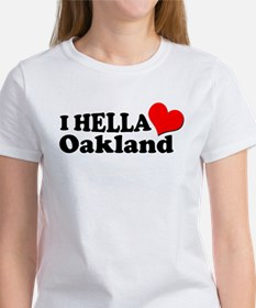 I HELLA LOVE / HEART OAKLAND Tee