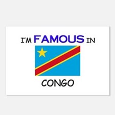 I'd Famous In CONGO Postcards (Package of 8)