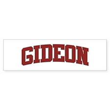 GIDEON Design Bumper Bumper Sticker