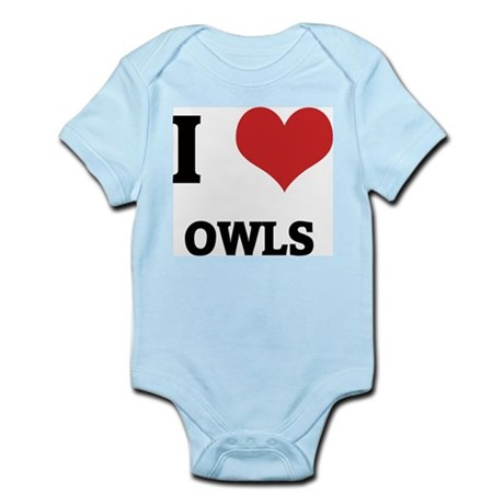 I Love Owls Infant Creeper
