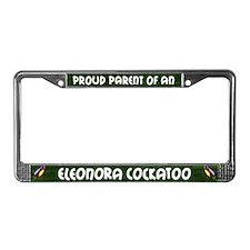 Proud Parrot Eleonora Cockatoo License Plate Frame