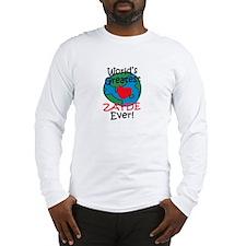 World's Greatest Zayde Long Sleeve T-Shirt