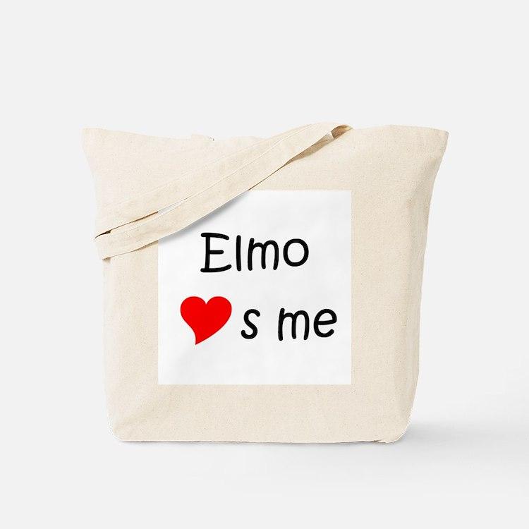 Cute Elmo Tote Bag