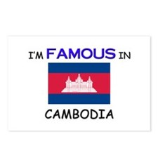 I'd Famous In CAMBODIA Postcards (Package of 8)