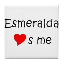 Cool Esmeralda Tile Coaster