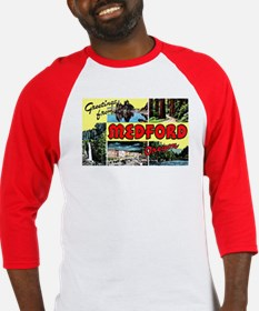 Medford Oregon Greetings Baseball Jersey