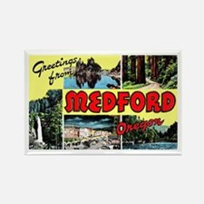 Medford Oregon Greetings Rectangle Magnet