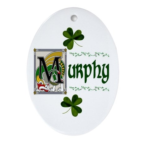 Murphy Celtic Dragon Ornament