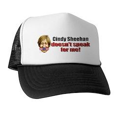 Cindy Sheehan doesn't speak f Trucker Hat