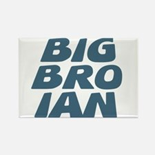Big Bro Ian Rectangle Magnet