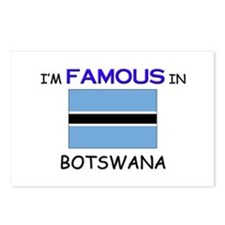 I'd Famous In BOTSWANA Postcards (Package of 8)