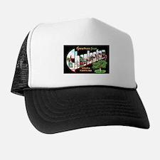 Charleston South Carolina Greetings Trucker Hat