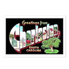 Charleston South Carolina Greetings Postcards (Pac