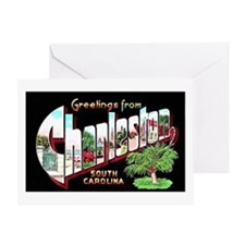 Charleston South Carolina Greetings Greeting Card