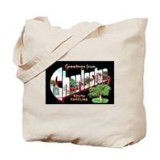 Charleston South Carolina Greetings Tote Bag